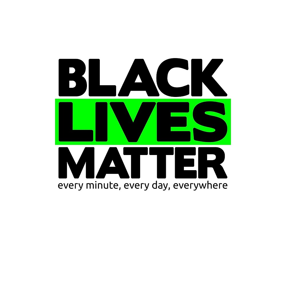 Black Lives Matter by Rhona Mahony