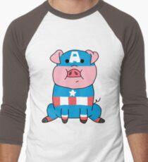 Captain Ameripig Waddles T-Shirt