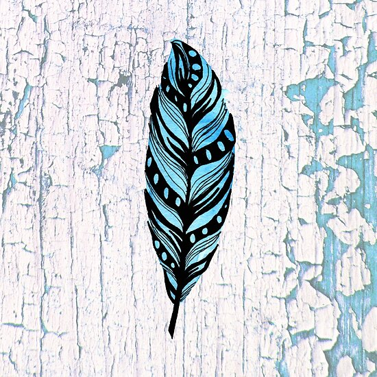 Frozen Feather by missmann