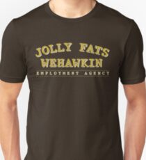 Jolly Fats Wehawkin Employment Agency T-Shirt