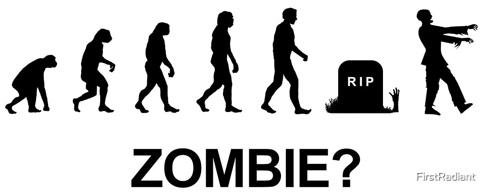 Evolution and Zombie by FirstRadiant