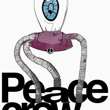 Peace Crew Sal Kids Tee by KevinJamesHarte