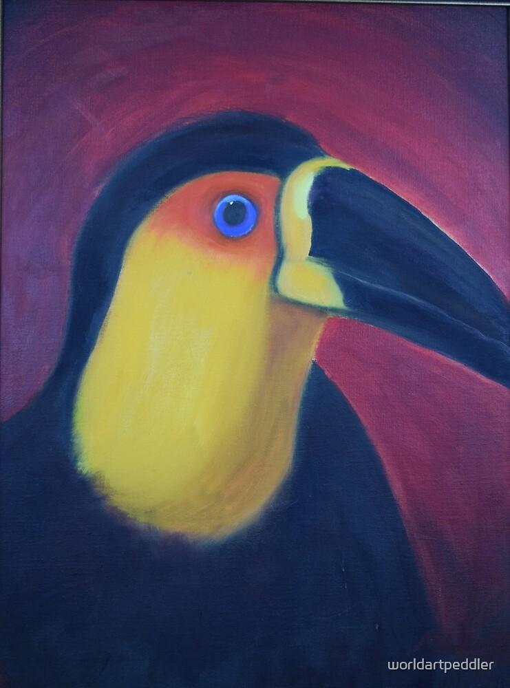 Parrot by worldartpeddler