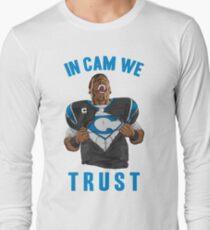 In Cam We Trust - Man of Steel 2016 Long Sleeve T-Shirt