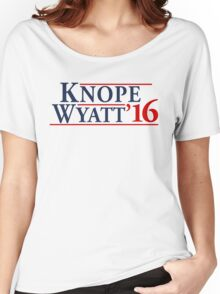 Leslie Knope for President! Women's Relaxed Fit T-Shirt