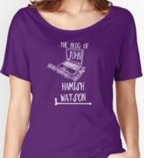John H. Watson /on dark colours/ Women's Relaxed Fit T-Shirt