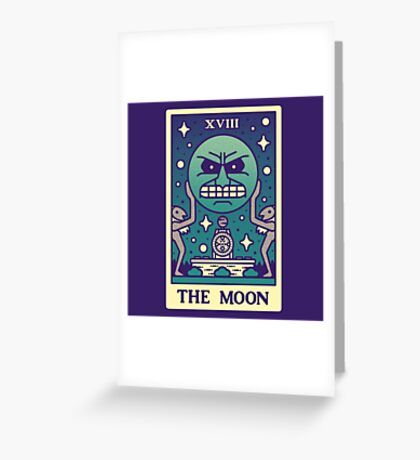 MAJORAS TAROT Greeting Card