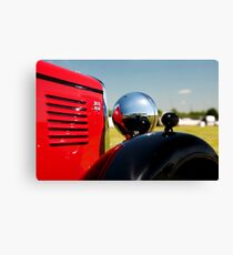 Vintage MG classic car Canvas Print