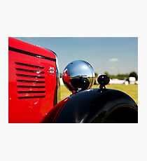 Vintage MG classic car Photographic Print