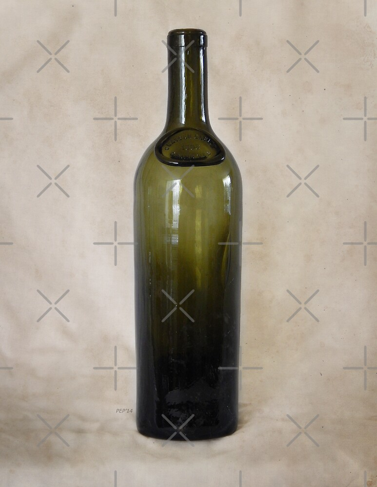 Vintage Glass Bottle by Phil Perkins