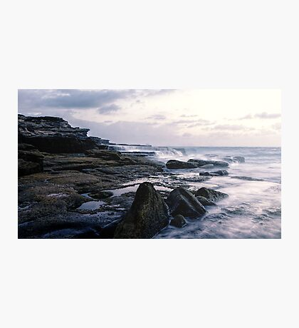 Maroubra Rock Ledges Photographic Print
