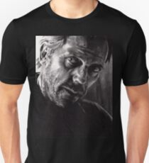 Il kill you... If you want me to - conté drawing T-Shirt