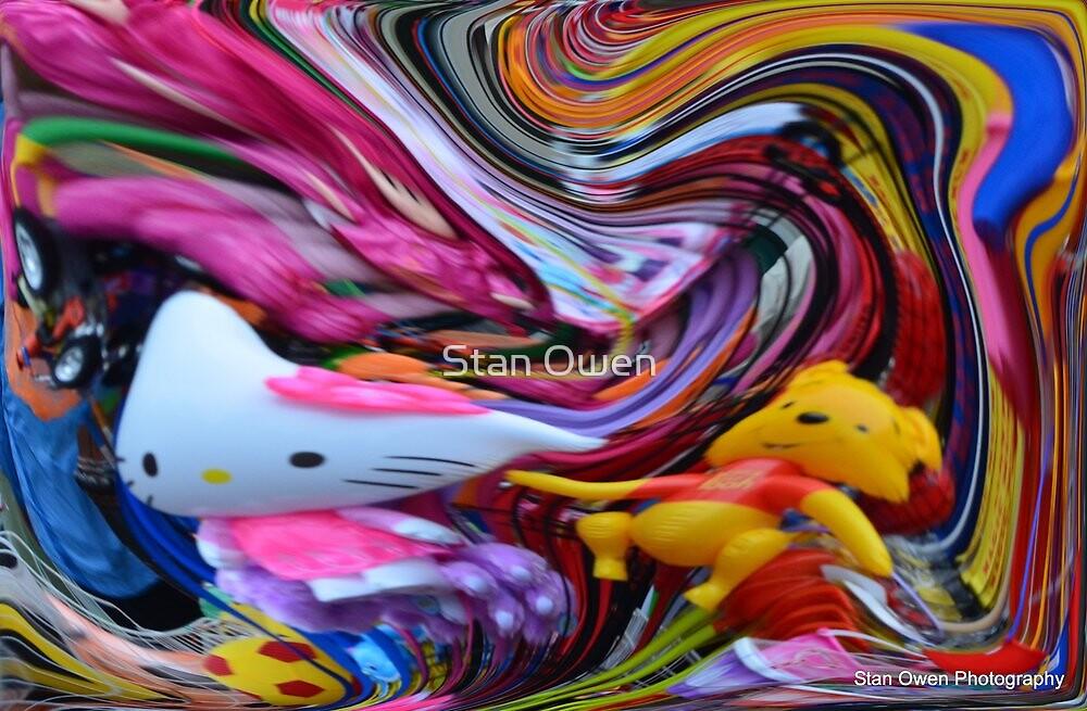 Toys In A Lollypop by Stan Owen