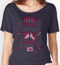 Shakespeare-Muster - Romeo und Julia Baggyfit T-Shirt