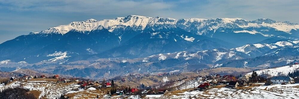 Bucegi mountains in Romania by naturalis