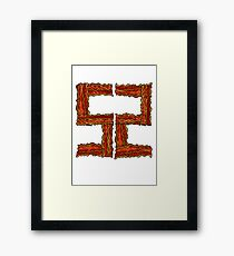 Bacon Bad Framed Print