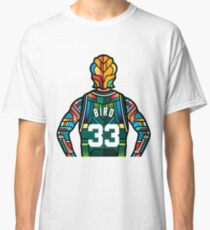 Larry Bird - Stained Glass Classic T-Shirt
