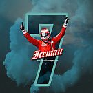 7 - Iceman - iPhone, Samsung case by evenstarsaima