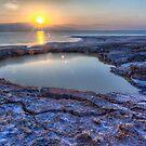 Sunrise Over the Dead Sea by Uri Baruch
