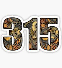 315 Doodle Sticker