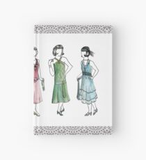 Downton Inspired Fashion Hardcover Journal