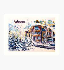 Whistler Art Print