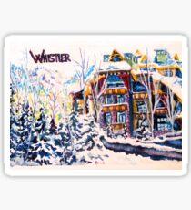 Whistler Sticker