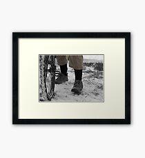 Men Who Ride  Framed Print