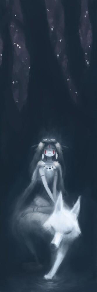 Princess Mononoke by Alex Chow