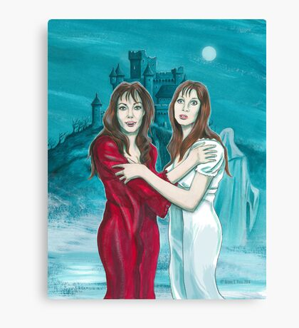 The Vampire Lovers Canvas Print