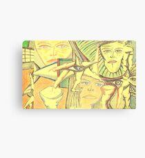 aero-glance Canvas Print