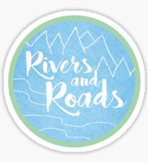 Rivers and Roads Sticker