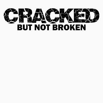 "Community ""Cracked But Not Broken"" Ass-crack Bandit Tshirt by fabricate"