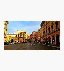 Rome at a Crosswalk Photographic Print