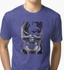 Alien Skull X-ray Tri-blend T-Shirt