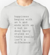 harry styles aka happiness T-Shirt