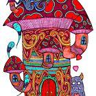 Mushroom House III by Octavio Velazquez