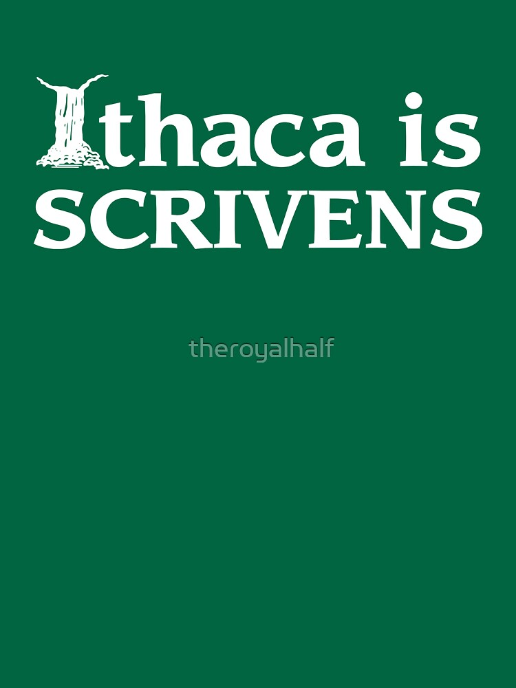 Ithaca Ivy League (WHITE TEXT) by theroyalhalf