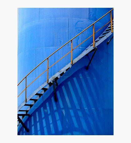 Oil Drum, China Photographic Print