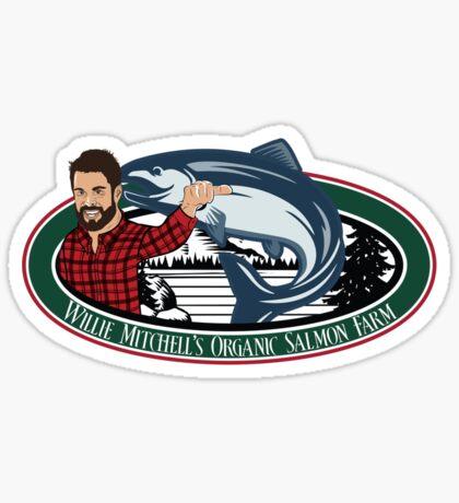 Mitch's Organic Salmon Farm Sticker