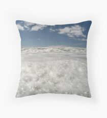 Getting your froth on Throw Pillow