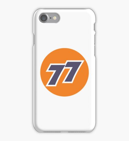 77 (Regular Edition) iPhone Case/Skin