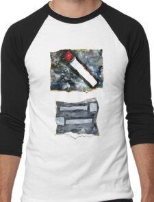 Red matchstick Men's Baseball ¾ T-Shirt