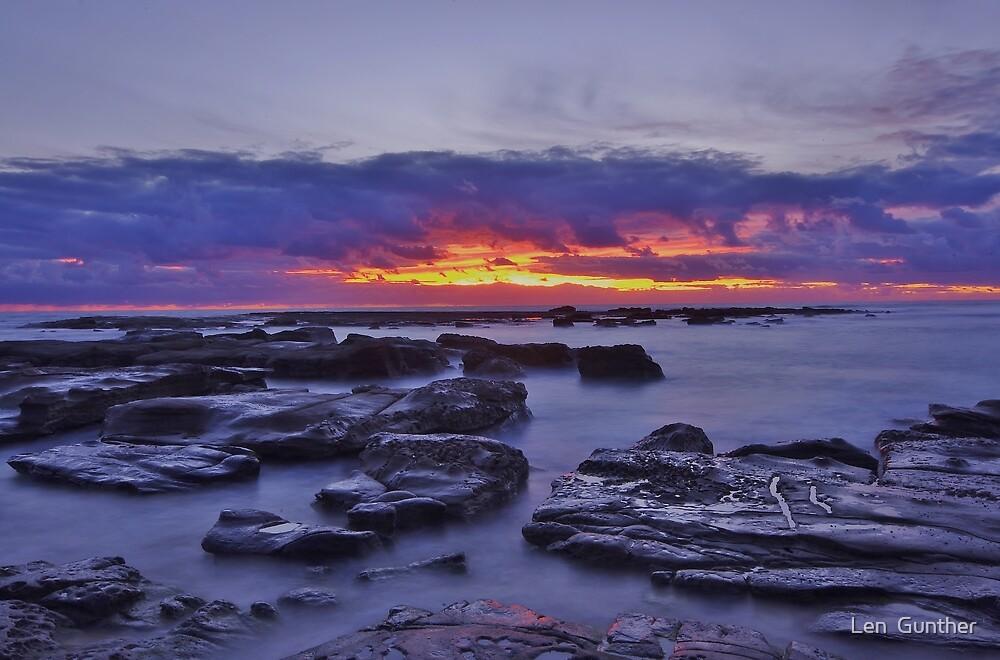 Morning Glow by Len  Gunther