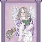 Angel Wings and Cat Tales by redqueenself