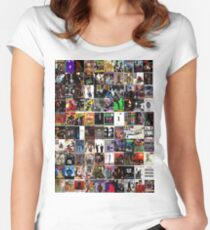 hip hop albums Women's Fitted Scoop T-Shirt