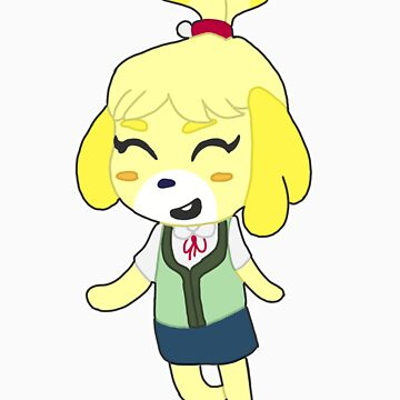 Animal Crossing- Isabelle by andromeduh