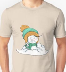 Sup Guy Playing in Snow Unisex T-Shirt