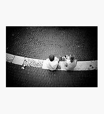 Chatting Photographic Print