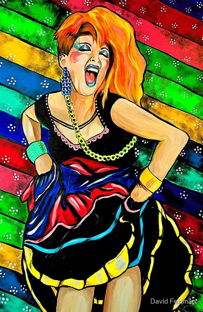 True Colors - Cyndi Lauper  by portraitsonthep